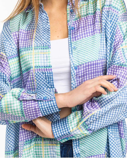 Kareli Desenli Gömlek resmi